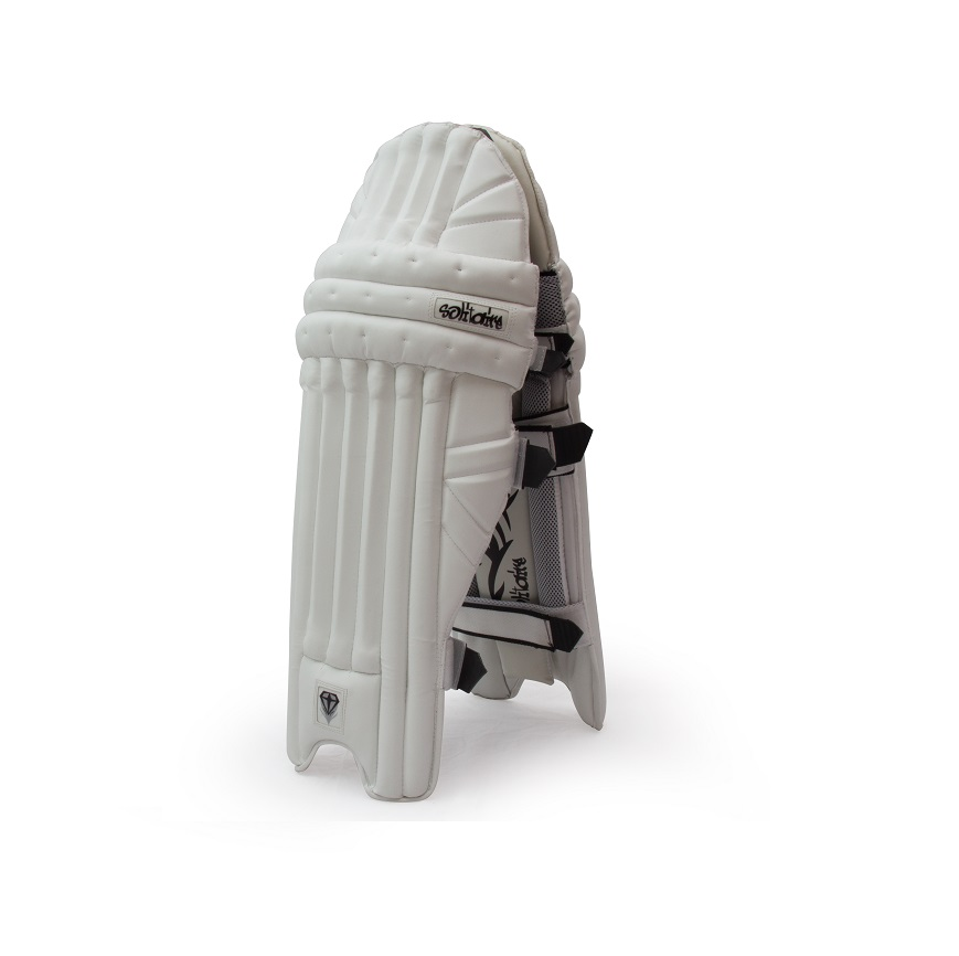 Solitaire Batting Pads Banner White